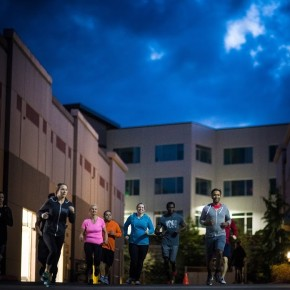 SnoRidge CrossFit_Night Run