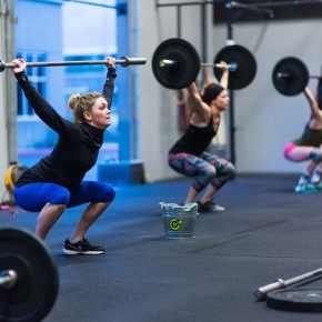 SnoRidge CrossFit_Power Snatch