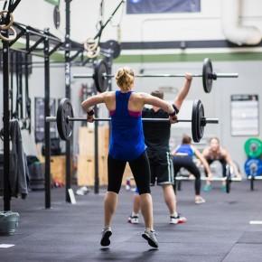 SnoRidge CrossFit_Power Snatches