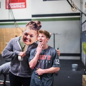 SnoRidge CrossFit_Reid and Jules