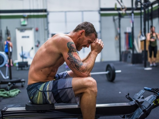 SnoRidge CrossFit_Rower Rest