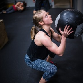 SnoRidge CrossFit_Wall Ball