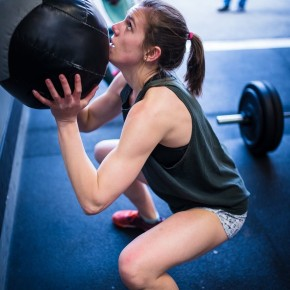 SnoRidge CrossFit_WallBall