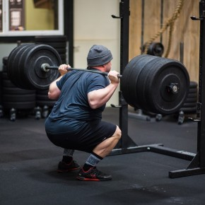 SnoRidge CrossFit_Back Squats