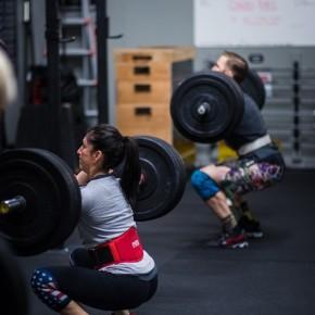 SnoRidge CrossFit_Front Squats