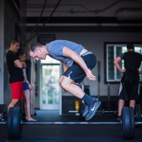 SnoRidge CrossFit_Lateral Burpee