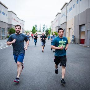 SnoRidge CrossFit_200m Run