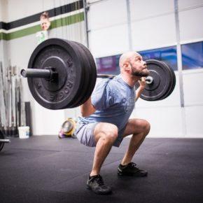 SnoRidge CrossFit_Back Squat_Eric