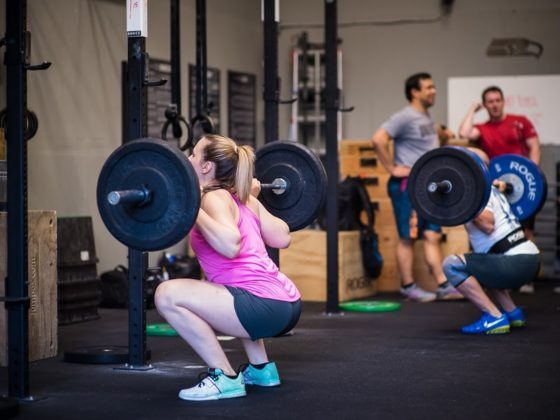 SnoRidge CrossFit_Back Squats