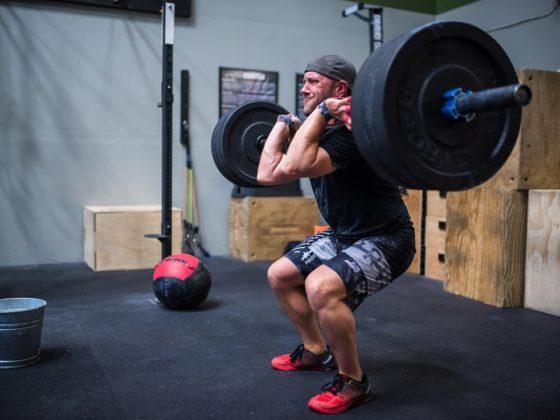SnoRidge CrossFit_Cleans