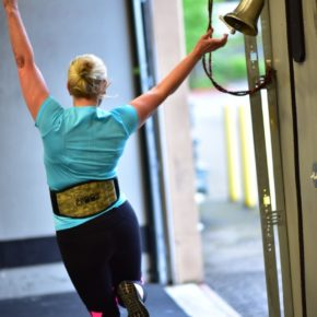 SnoRidge CrossFit_PR Bell_Debbie