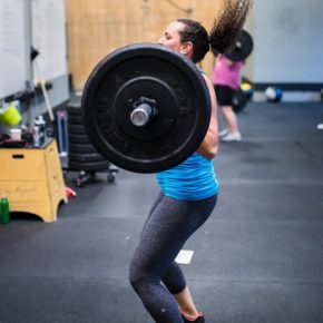SnoRidge CrossFit_Power Clean