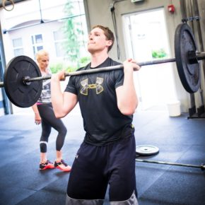 SnoRidge CrossFit_Push Press