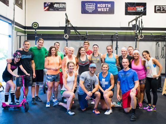 SnoRidge CrossFit_100th WOD Amanda