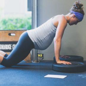 SnoRidge CrossFit_Pregnant Push-ups