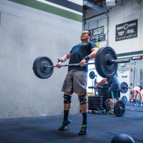 SnoRidge CrossFit_Pwr Clean