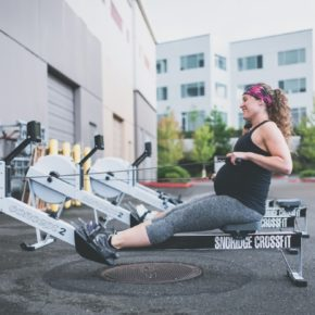 SnoRidge CrossFit_Row_Kimber