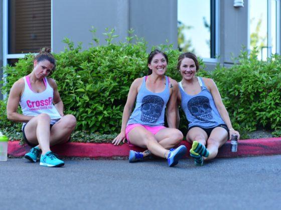 SnoRidge CrossFit_Tank Twins