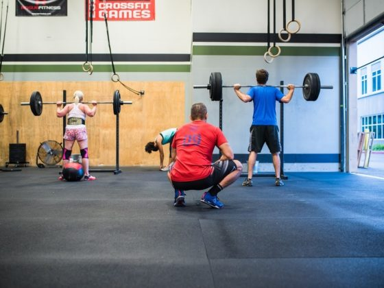 SnoRidge CrossFit_Coaching Squats