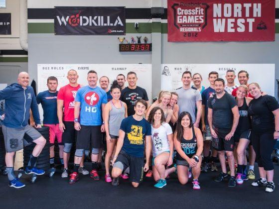 SnoRidge CrossFit_Robbie Group WOD