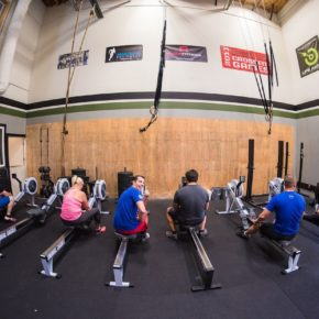 SnoRidge CrossFit_Rowers