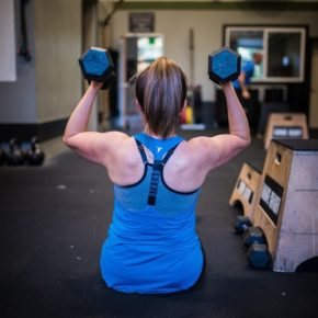 SnoRidge CrossFit_Seated Press