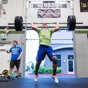 SnoRidge CrossFit_Split Jerk