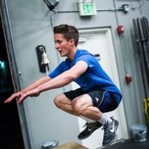 SnoRidge CrossFit_Box Jump_Eli