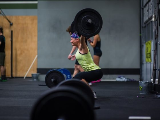 SnoRidge CrossFit_Power Snatch_Kat