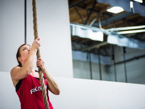 SnoRidge CrossFit_Rope Climbs