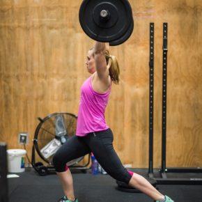 SnoRidge CrossFit_Split Jerks