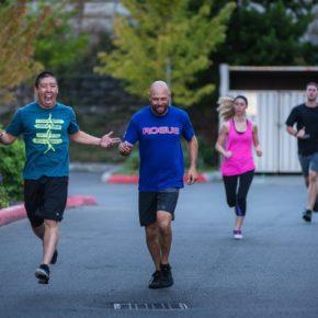 SnoRidge CrossFit_Team Run