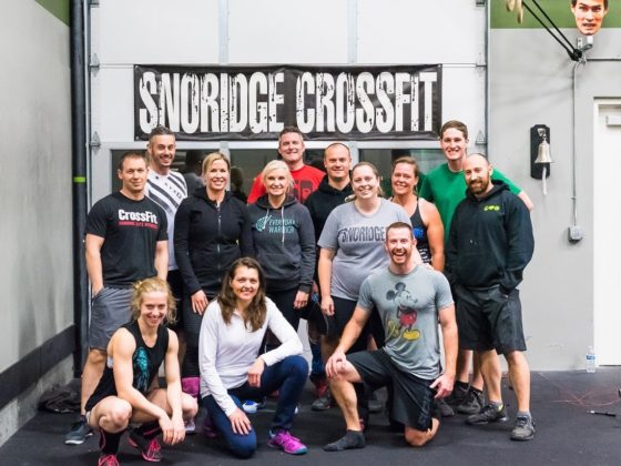 SnoRidge CrossFit_500th WOD Alison