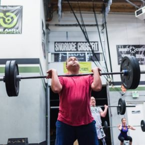 SnoRidge CrossFit_Front Squat