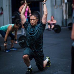 SnoRidge CrossFit_OH Lunge