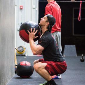 SnoRidge CrossFit_Wall Ball