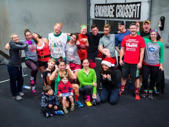 Christmas 2016 WOD - PM Crew