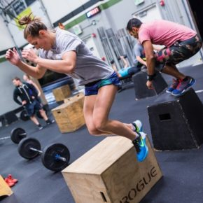 SnoRidge CrossFit_Box Jump Over