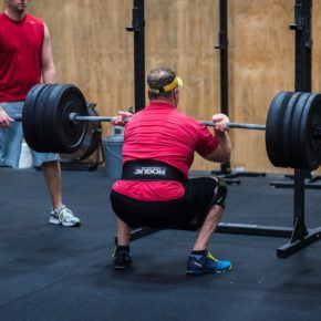 SnoRidge CrossFit_Front Squats