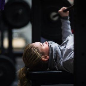 SnoRidge CrossFit_Bench Press Bundle Up