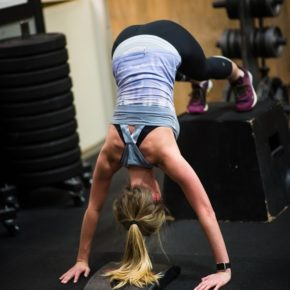 SnoRidge CrossFit_Box HSPU