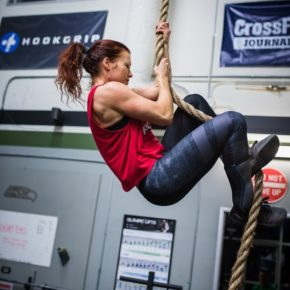 SnoRidge CrossFit_Rope Climbs