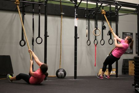 Supine Rope Climbs