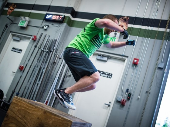 SnoRidge CrossFit_Box Jump Over