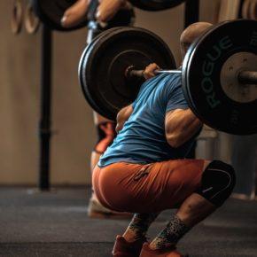 Crossfit Back squat کراس فیت بک اسکات